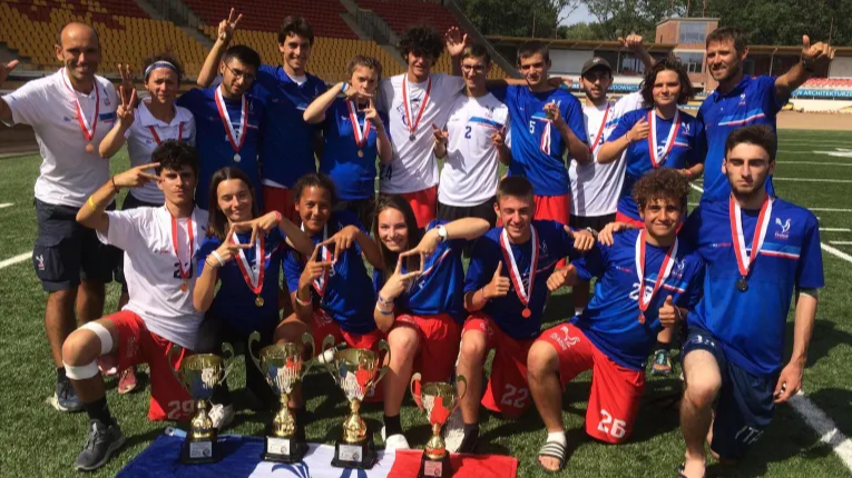 COGEPRINT soutient l'équipe de France ULTIMATE