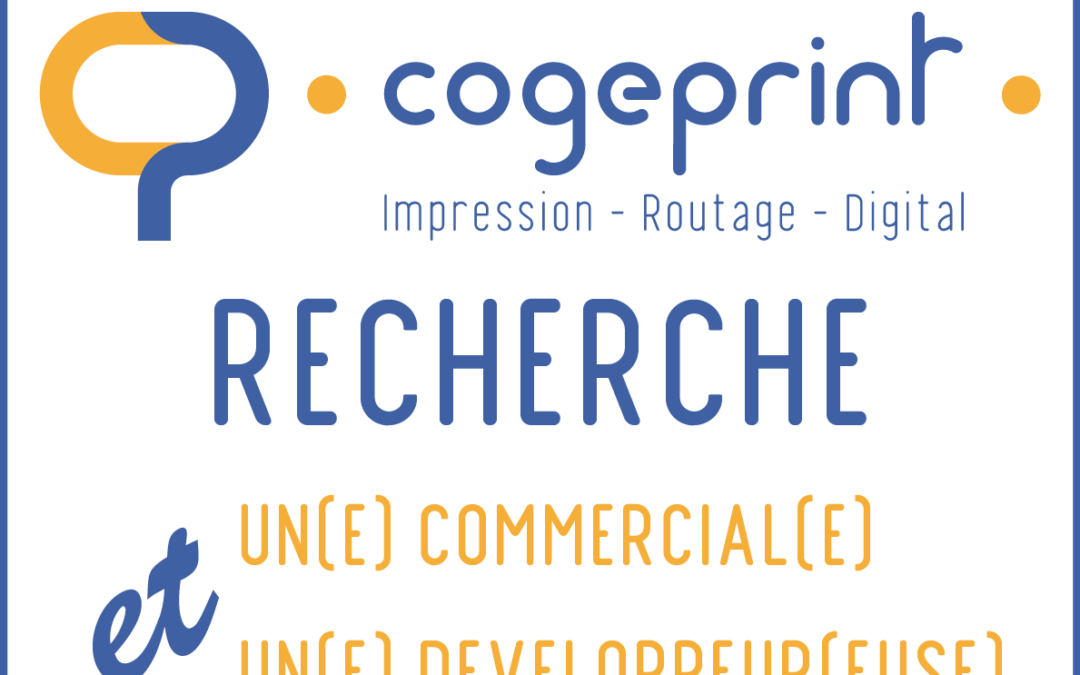 COGEPRINT recrute